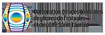 Logo Coopération des gestionnaires de phares de l'estuaire et du golfe Saint-Laurent